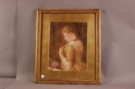 Miss Lucy Bentley Smith (19th century), 39cm by 30cm, watercolour on paper, label to reverse stating