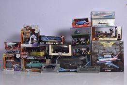 Modern Diecast Vehicles, a boxed/cased collection of vintage and modern, private and commercial