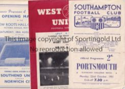 """OPENING OF LIGHTS FOOTBALL Eleven programmes all from matches which celebrated """"Opening of"""