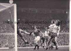MAN UNITED A collection of 12 Manchester United Press Photos from the 1970's (12 x 10 inches) to