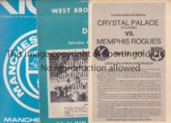 BRITISH CLUBS IN NORTH AMERICA A collection of 10 programmes featuring English and Scottish clubs