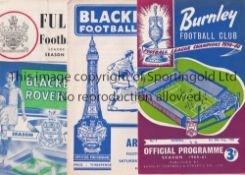 ARSENAL A collection of 300+ Arsenal away programmes from the 1960's to include 32 x 1960/61 , 27