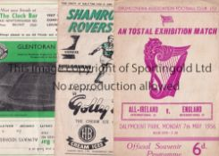 IRISH A collection of 17 programmes from matches in the Republic of Ireland and one from Northern