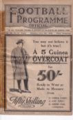 EVERTON / ARSENAL 1928 DIXIE DEAN'S RECORD Programme for the League match at Goodison 5/5/1928.