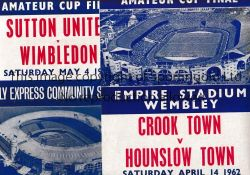 SONG SHEETS A collection of 7 Wembley song sheets. FA Cup Finals 1950,1956 and 1962, England v