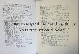 CLIFF BASTIN SIGNED PRESENTATION BOOK 1932 A 123 page hardback presentation book with gold lettering