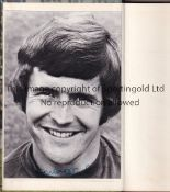 JOHN HOLLINS AUTOGRAPH The Chelsea Book No. 5 with a signed colour photo of Hollins stuck to the