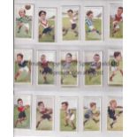 TRADE CARDS A large folder containing several cards from various sets including 9 X Sporting