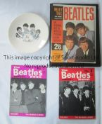 "BEATLES Original 7"" plate with portraits, slightly worn, The Beatles Book Monthly No.s 7 and 8, Meet"