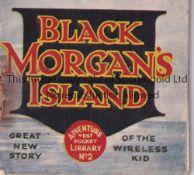 ADVENTURE MAGAZINE BOOKLET 1939 Adventure Vest Pocket Library no. 2, Black Morgan's Island, staple