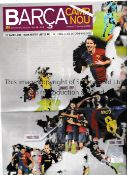 CHAMPIONS LEAGUE FINAL 2009 Barca Camp Nou newspaper dated 27/5/2009, covering Barca v Manchester