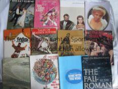 FILM PROGRAMMES Twelve programmes 1963 - 1972: It's A Mad Mad Mad Mad World, My Fair Lady, The