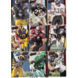 AMERICAN FOOTBALL / USA TRADE CARDS Over 220 Hi-Pro MKTG. Inc. embossed Action Packed 1992 NFL