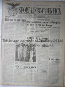 BENFICA v GLASGOW RANGERS 1948 S.L. Benfica v Glasgow Rangers (Friendly) played 10/2/1948 at Estadio