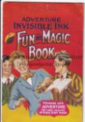 ADVENTURE MAGAZINE BOOKLET 1939 Invisible Ink Fun and Magic Book, rusty staple. Generally good