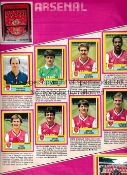 AUTOGRAPHS / PANINI STICKER ALBUM 1987 Album for Football 87 with 472 stickers and includes