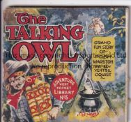 ADVENTURE MAGAZINE BOOKLET 1939 Adventure Vest Pocket Library no. 5, The Talking Owl, staple