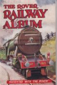 THE ROVER MAGAZINE BOOKLET 1930'S The Rover Railway Album, rusty staple. Generally good