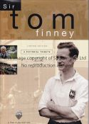 TOM FINNEY / LIMITED EDITION BOOK Sir Tom Finney A Pictorial Tribute number 702 of 750 issued and
