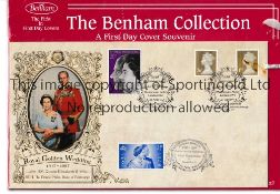 ROYAL GOLDEN WEDDING A First Day Cover for the 50th Wedding Anniversary of the Queen Elizabeth and