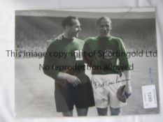 MAN CITY Autographed lot of 16 x 12 photos of former players from the 1960s, Trautmann, Doyle,
