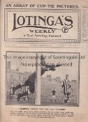 LOTINGA'S WEEKLY 1911 Magazine issued 11/2/1911 including a Gathering of Pigeon Fanciers,