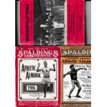 ATHLETICS / SPORTS MAGAZINES Two U.S. issue Spalding's Almanacs 1916 and 1927 and a U.S. Amateur
