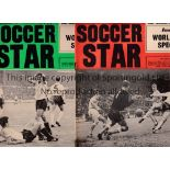 FOOTBALL NEWSPAPERS / FOOTBALL MAGAZINES Forty nine newspapers from 1922 onwards plus 105 Shoot