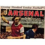 LONDON FOOTBALL 1970/1 Complete set of 12 newspapers. In 1970 the London Evening Standard issued a