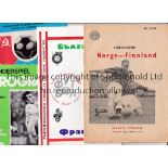 FOREIGN PROGRAMMES Forty Foreign Club and 14 International programmes almost all in Europe 1955-