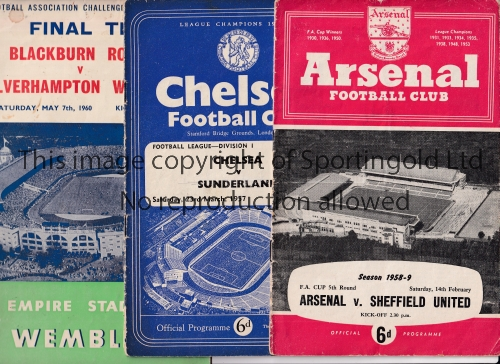 PROGRAMME MISCELLANY Twenty three programmnes from the 1950's and 1960's to include Brentford v