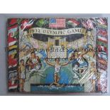 1932 OLYMPICS LOS ANGELES 1932 Olympic Games Olympic Oath jigsaw with pieces in the form of animals.