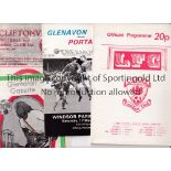 NORTHERN IRELAND Sixteen programmes involving clubs from Northern Ireland and Internationals.