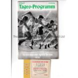 1936 OLYMPICS BERLIN Programme and ticket for the Athletics on 2/8/1936. Generally good