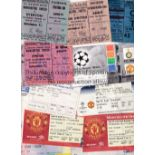 MANCHESTER UNITED TICKETS Twenty five home and away from 1960's to 2004 including G.B. v Australia