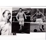 STANLEY MATTHEWS Six B/W Press photos with stamps on the reverse and some have additional paper