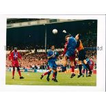 LEICESTER CITY Approximately 100 colour photos from the 1990's with the majority being action
