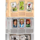 FOOTBALL CIGARETTE CARD ALBUMS Three card albums: Hints on Association Football by Players,