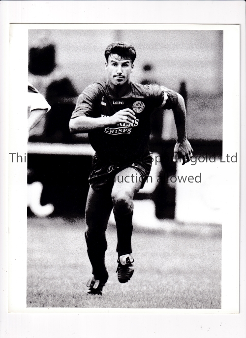 FOOTBALL PRESS PHOTOS 1990'S Sixty eight B/W photos with stamps on the reverse featuring English