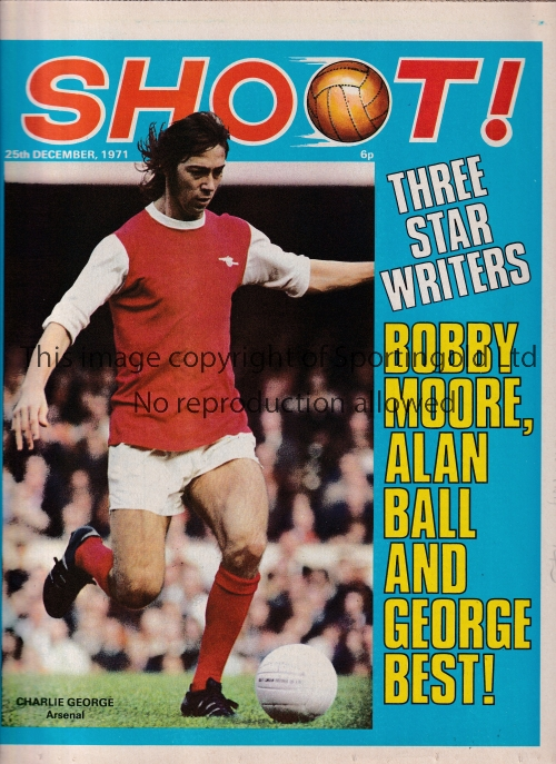 GEORGE BEST Twenty two Goal Magazines 1971-1973 all including articles by Best and some include