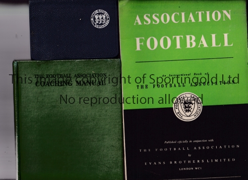 F.A. PUBLICATIONS Three items:- An Instructional Book of The Football Association from the 1940's,