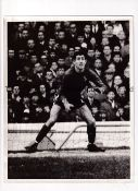 "PETER BONETTI / CHELSEA A 10"" X 8"" b/w action Press photo with stamp and paper notation on the"