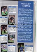 1987 CHARITY SHIELD / COVENTRY CITY / EVERTON / AUTOGRAPHS Programme signed inside by 8 Everton