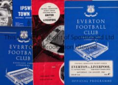 CHARITY SHIELD PROGRAMMES Programmes for 7 non-Wembley matches, 1953 Arsenal v Blackpool, team