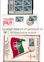 FLUMINENSE F.C. Three items for the 50 years celebration 1902 - 1952 of the Brazilian club: 2