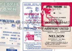 1950'S NON LEAGUE FOOTBALL PROGRAMMES Eighty including over 30 different clubs represented including