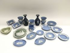 A collection of Wedgewood Jasperware. NO RESERVE.