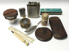 A collection of interesting items a Military Compa