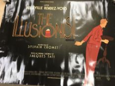 A collection of various film posters including The Illusionist, Snowtown and others.