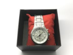 An Amadeus chronograph watch.
